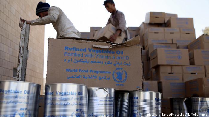 Jemen Symbolbild Nahrungsmittel WFP