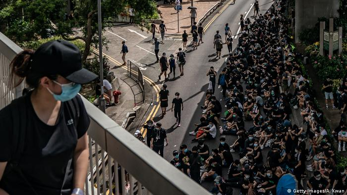 Hongkong Proteste gegen Auslieferungsgesetz (Getty Images/A. Kwan)