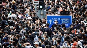 Hongkong Proteste gegen Auslieferungsgesetz