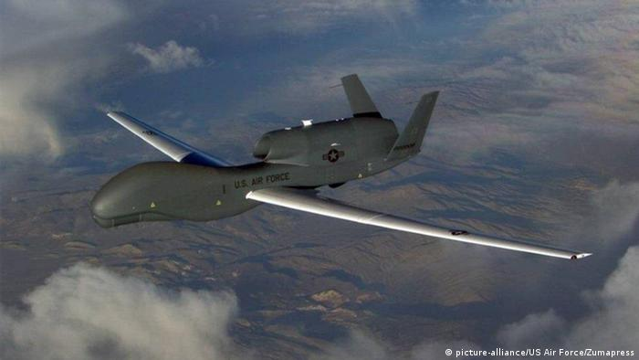 US-Drohne Global Hawk (picture-alliance/US Air Force/Zumapress)