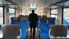 Wasserstoffzug vom Typ Coradia iLint des Herstellers Alstom