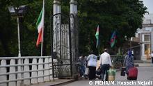 یکی از گذرگاههای مرزی میان ایران و جمهوری آذربایجان (عکس از آرشیو)