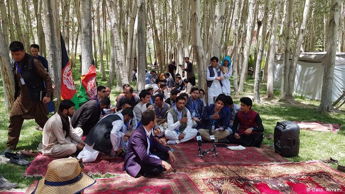 Афганистан Versammlung für Toleranz und Frieden (DW / A Akrami)