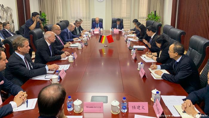 Njemačko izaslanstvo u Kini na razgovorima o Putu svile