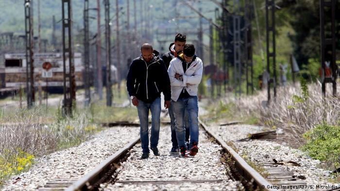 Griechenland Syrische Flüchtlinge (Getty Images/AFP/S. Mitrolidis)
