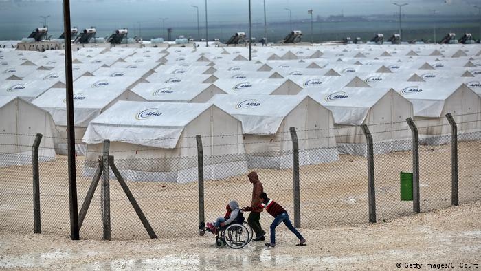Suruç mülteci kampı