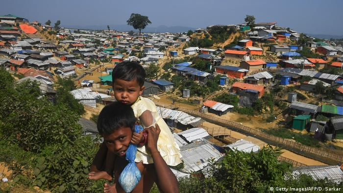 Bangladesch Balukhali Flüchtlingslager (Getty Images/AFP/D. Sarkar)
