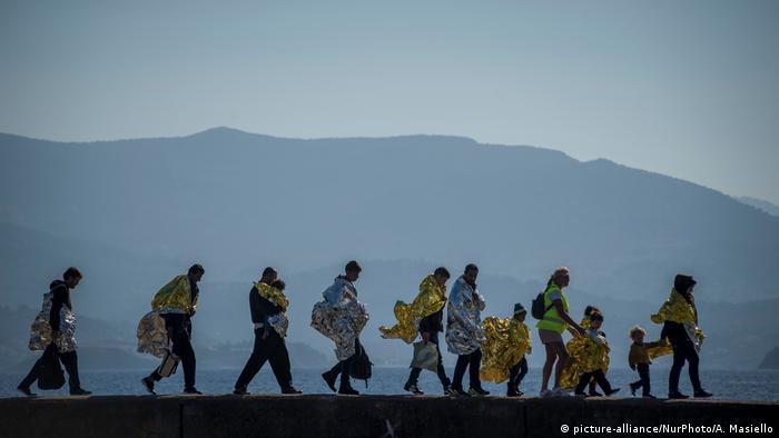 Griechenland Flüchtlinge