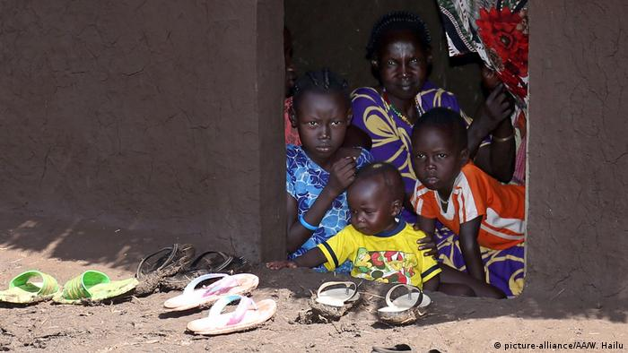 Äthiopien Gambela Flüchtlinge aus Süd Sudan
