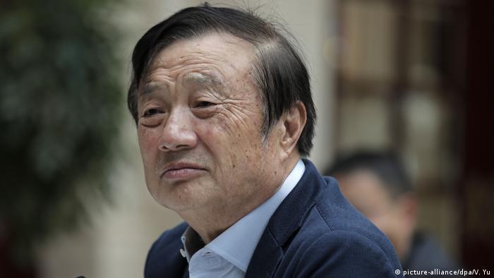 Huawei-Gründer Ren Zhengfei (picture-alliance/dpa/V. Yu)