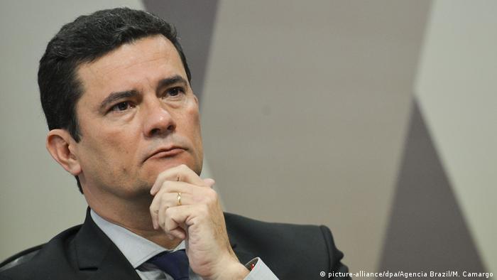 Brasilien Daten-Leck - Moro vor dem Senat (picture-alliance/dpa/Agencia Brazil/M. Camargo)
