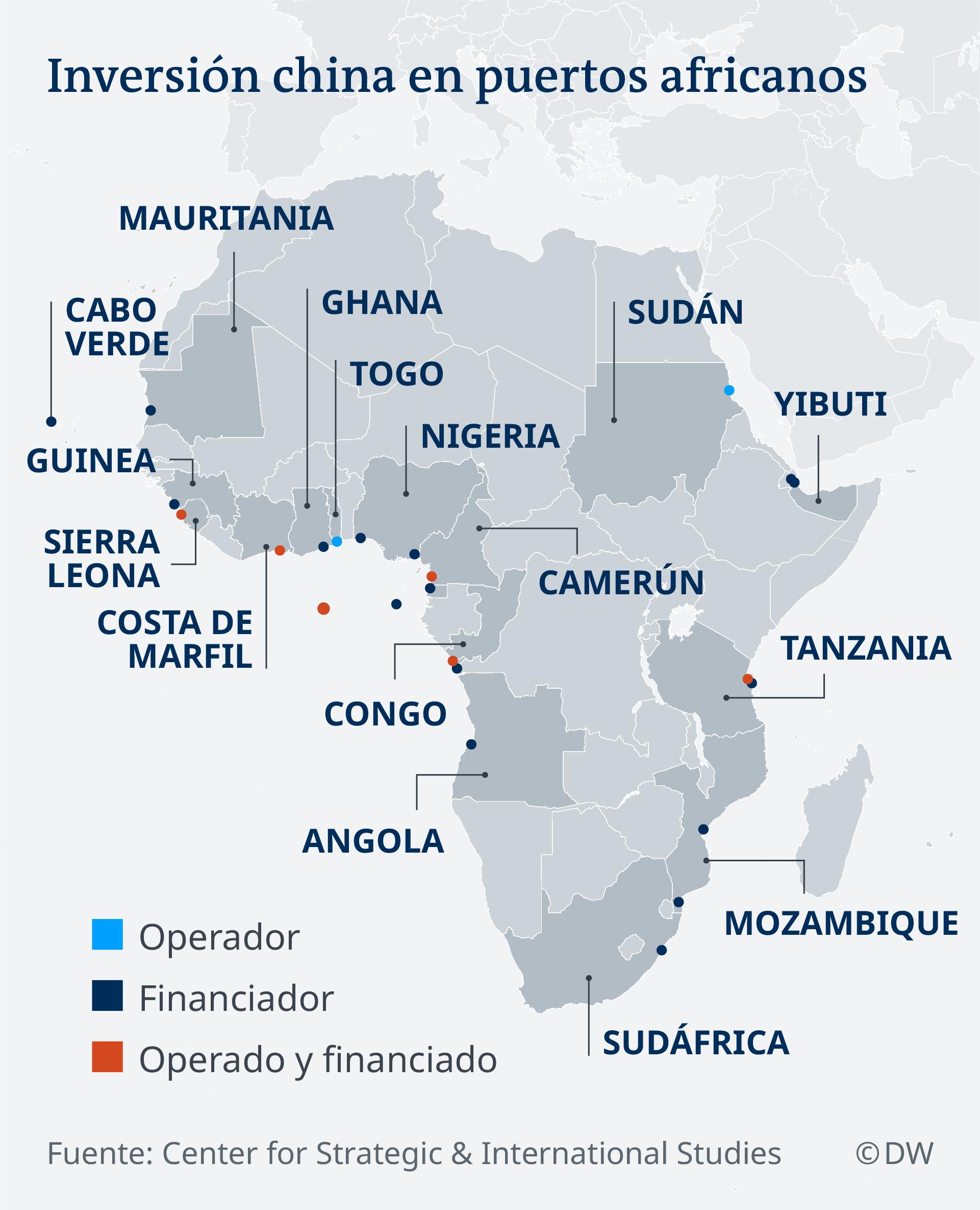 Infografik Inversión china en puertos africanos ES