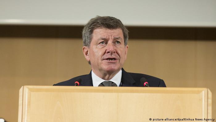 Schweiz | ILO verabschiedet ein neues Verfahren gegen Belästigung / Gewalt am Arbeitsplatz (picture-alliance/dpa/Xinhua News Agency)