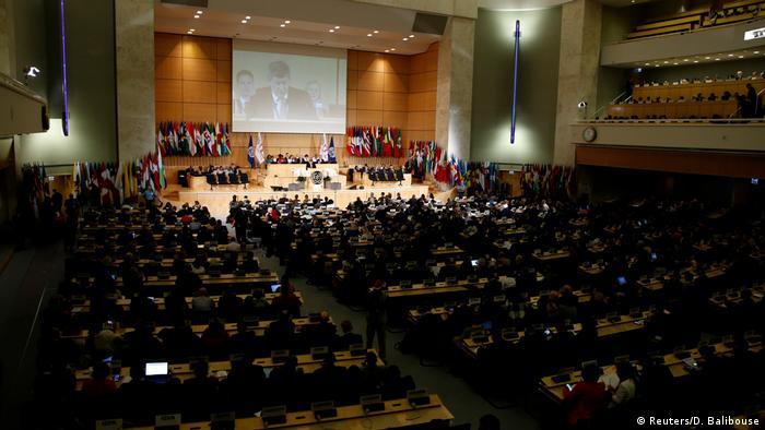 Schweiz | ILO verabschiedet ein neues Verfahren gegen Belästigung / Gewalt am Arbeitsplatz (Reuters/D. Balibouse)