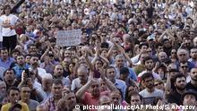 Georgien Proteste in Tbilisi