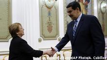 Venezuela Caracas | Nicolas Maduro, Präsident & UN-Menschenrechtskommissarin Michelle Bachelet