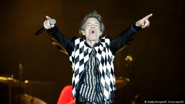 Rolling Stones Konzert Chicago USA (Getty Images/K. Krzaczynski)
