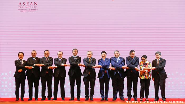 ASEAN summit – Southeast Asian nations wary of US-China