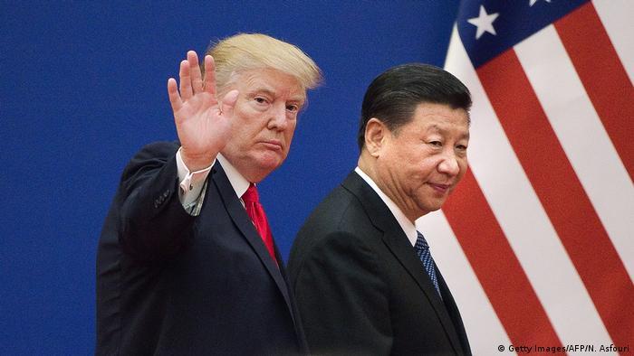 ترامب مع شي جينبينغ