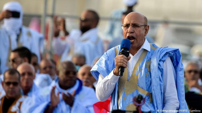 Resultado de imagen de En Mauritanie, Mohamed Ould Ghazouani élu président