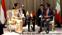 Thailand Bangkok | ASEAN Gipfeltreffen - Joko Widodo mit Aung San Suu Kyi