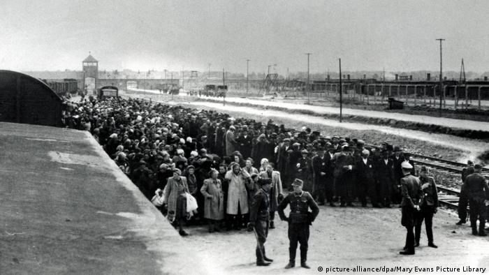 Arrival of Hungarian Jews in Auschwitz-Birkenau