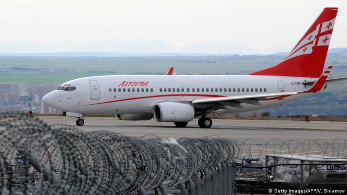 Georgian Airways plane
