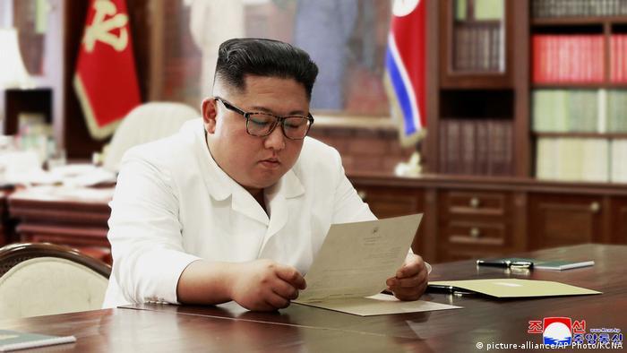 کیم جونگ اون، رهبر کرهشمالی خشنود از دریافت نامه ترامپ