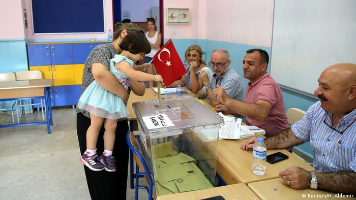 Türkei Istanbul Wahlen