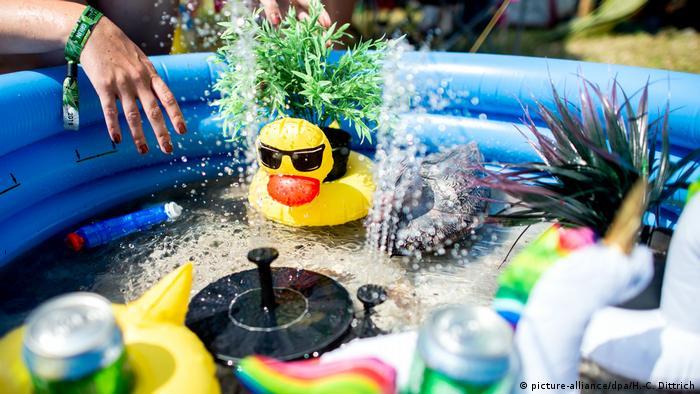 Rashlađivanje u bazenu