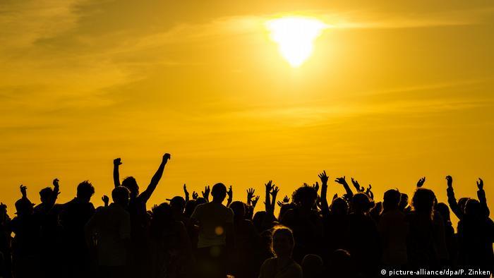 Ljudi na suncu