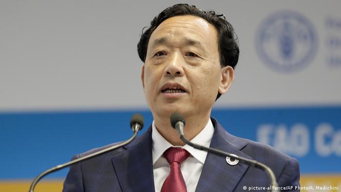Italien Rom | Qu Dongyu, Der neue Präsident der FAO
