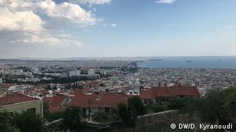 Η Θεσσαλονίκη, όπως φαίνεται από τα Κάστρα