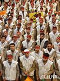 رژه نیروهای بسیجی در روز بسیج؛ عکس از آرشیو (۲۶ نوامبر ۲۰۰۹)