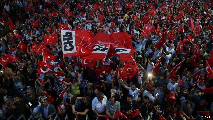 Türkei Bürgermeisterwahlen CHP Parteizentrum (CHP )