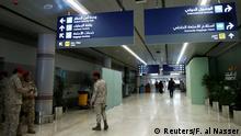الصورة لمطار أبها في المملكة العربية السعودية
