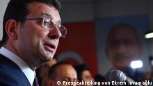 Türkei Neuer Bürgermeister von Istanbul, Ekrem Imamoglu