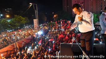 Ο μεγάλος νικητής των εκλογών Εκρέμ Ιμάμογλου