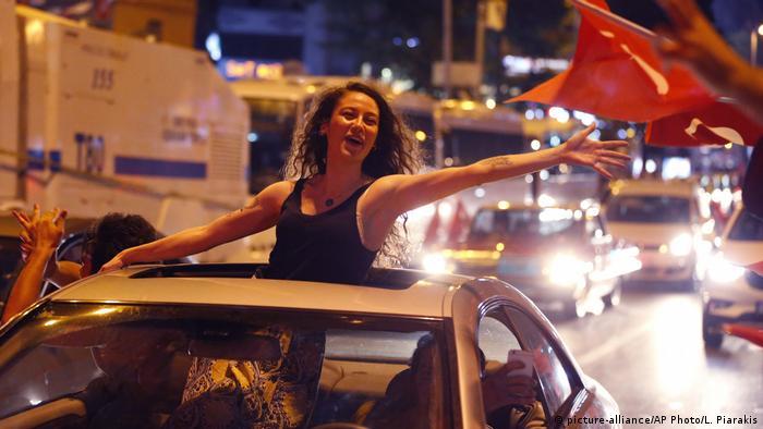 Türkei Istanbul-Wahlen | Feier der Anhänger Imamoglus