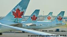 Kanada Flugzeuge der Air Canada am Flughafen Toronto