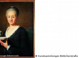 Феликс Мария Диогг. Дама, пьющая кофе, 1789 год