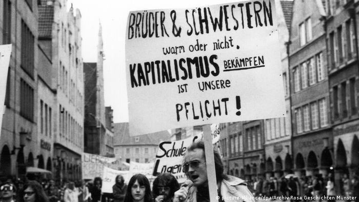 Мюнстер, 1972 год. Первая демонстрация в защиту прав ЛГБТ в Германии