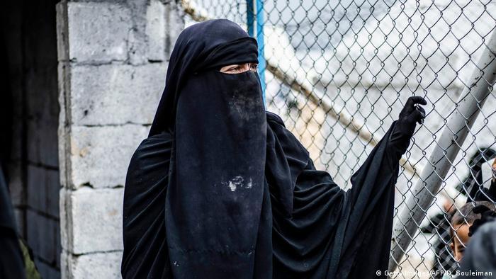 Syrien al-Hol camp IS-Angeghörige