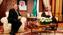 Mike Pompeo in Saudi Arabien