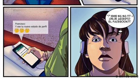 DW Akademie Media Literacy Comic für Guatemala (Sónica 106.9)