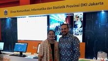 Kariem El-Ali und Atika Nur Rahmania in Jakarta