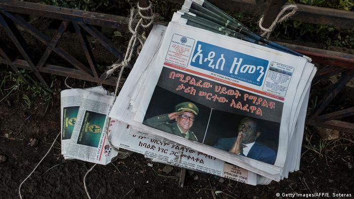 Äthiopien Addis Ababa nach Putschversuch