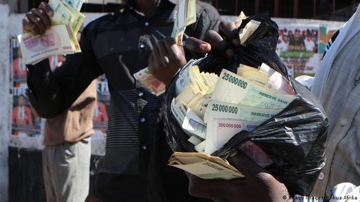 Simbabwe Währung