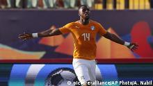 Fußball Africa Cup of Nations 2019 Elfenbeiküste - Südafrika Jonathan Kodjia