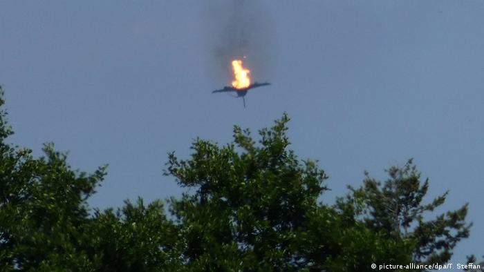 Eurofighter crash in Mecklenburg Western-Pomerania